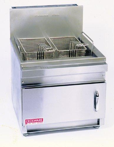 Grindmaster-Cecilware GF28-NAT Countertop 28-Pound Natural Gas Fryer 45000 BTRsHour