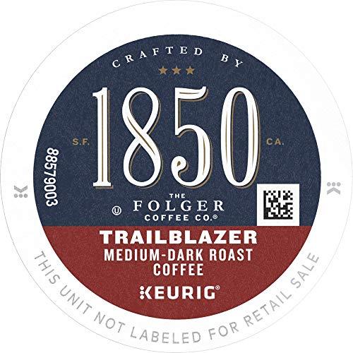 1850 Trailblazer Medium-Dark Roast Coffee 96 Count K Cups for Keurig Makers
