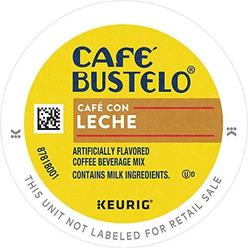 Café Bustelo Coffee Espresso Style Sweet Creamy Café Con Leche K Cup Pods for Keurig Coffee Makers 96 Count
