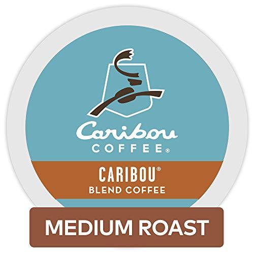 Caribou Coffee Caribou Blend Keurig Single-Serve K-Cup Pods  Medium Roast Coffee 72 Count