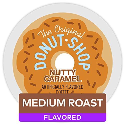 The Original Donut Shop Nutty Caramel Keurig Single-Serve K-Cup Pods Light Roast Coffee 72 Count