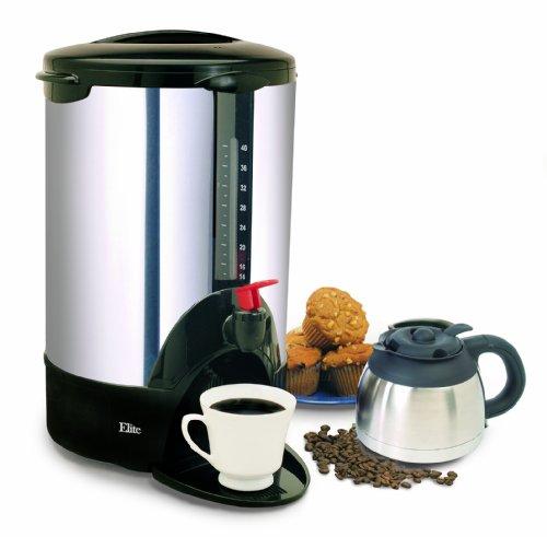 MaxiMatic CCM-07X Elite Cuisine 40-Cup Coffee Urn Chrome