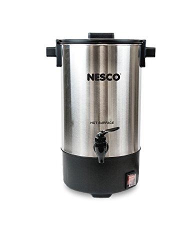 Nesco CU-25 25 Cup Coffee Urn Stainless SteelBlack