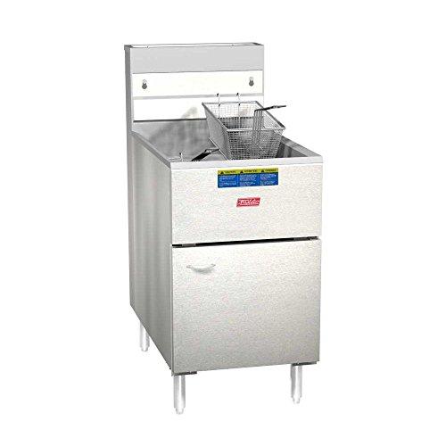 Pitco Frialator 65S Economy 60-80 Lb Propane Gas Fryer