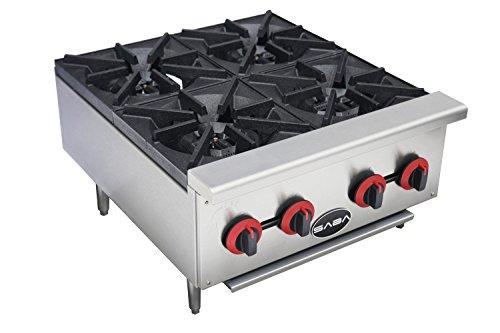 Heavy Duty 4 Burner Gas Countertop Hotplate Cooker