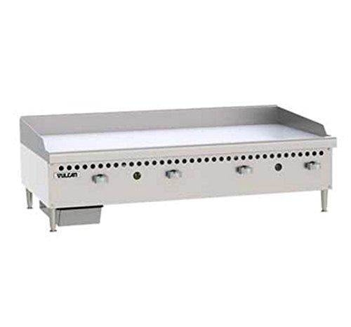 Vulcan VCRG48-M Griddle gas countertop 48 W cooking plate 100000 BTU