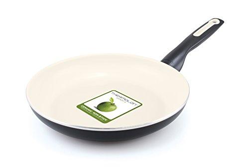 GreenPan Rio 12 Inch Ceramic Non-Stick Fry Pan Black
