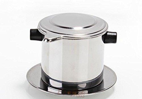 Vietnamese Stainless Steel Moka Pot Drip Coffeepot