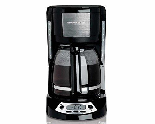 Hamilton Beach 49615 12 Cup Programmable Coffee Maker Black