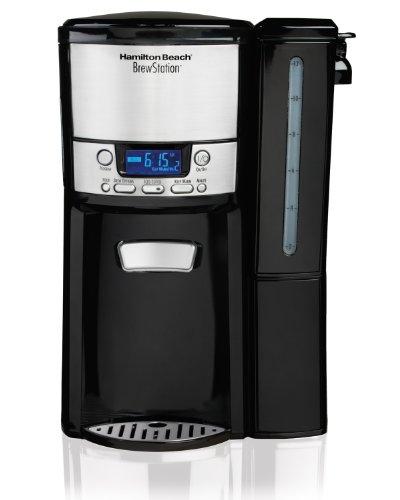 Hamilton Beach 12-Cup Coffee Maker Programmable BrewStation Dispensing Coffee Machine 47900