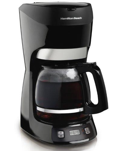 Hamilton Beach 12-Cup Coffee Maker with Digital Clock 49467
