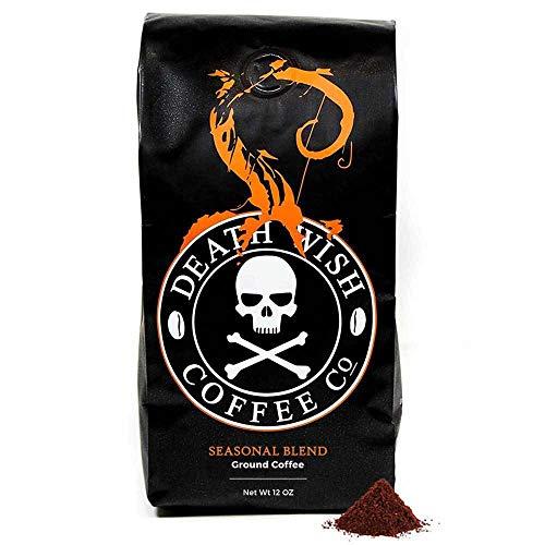 Death Wish Coffee Organic Pumpkin Spice Coffee - 12 oz Bag Ground