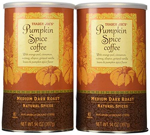 Trader Joes Pumpkin Spice Coffee 14 Oz Pack of 2