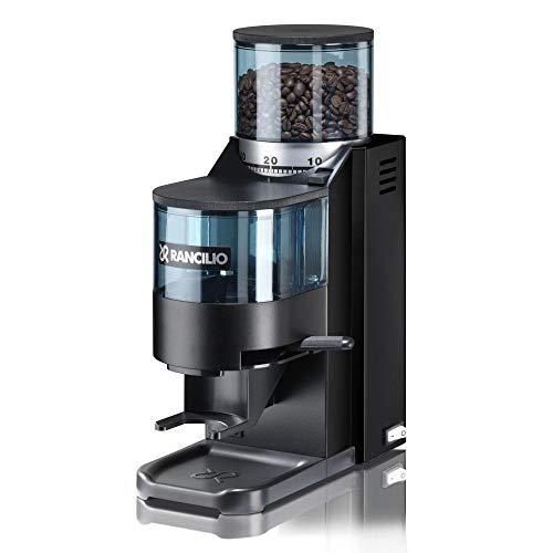 Rancilio Rocky Espresso Grinder - Doser - Black 20th Anniversary Limited Edition Black