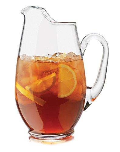 Libbey Crisa 1780764 Capacity Mario Glass Pitcher 893-Ounce
