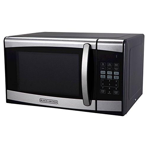 BLACKDECKER 09cu ft 900 Watt Microwave Oven Stainless Steel EM925AZE-P