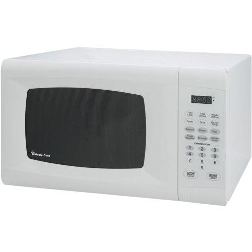 Magic Chef MCM990W 09 cuft 900W Microwave White