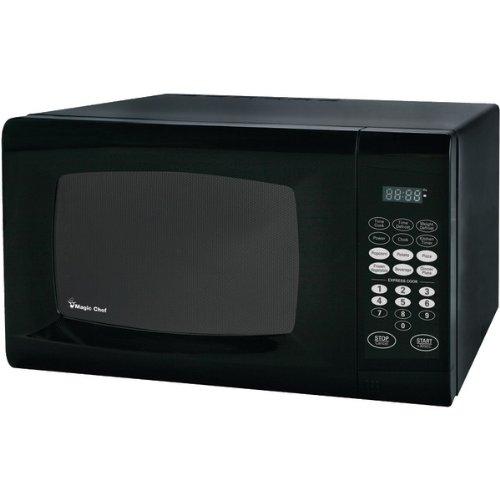 Magic Chef Mcm990B 09 Cubic Feet 900-Watt Microwave with Digital Touch