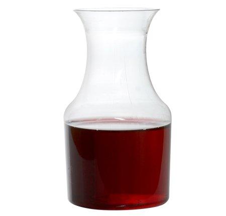 FL-6417 75 OzClear Mini Wine Pitcher Carafe 60pc