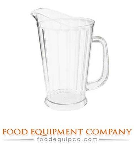 GET Enterprises P-1064-1-CL Clear 60 oz Beer Pitcher - Case of 12