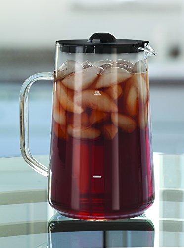 Capresso Ice Tea Glass Pitcher 80 oz 25 Qt