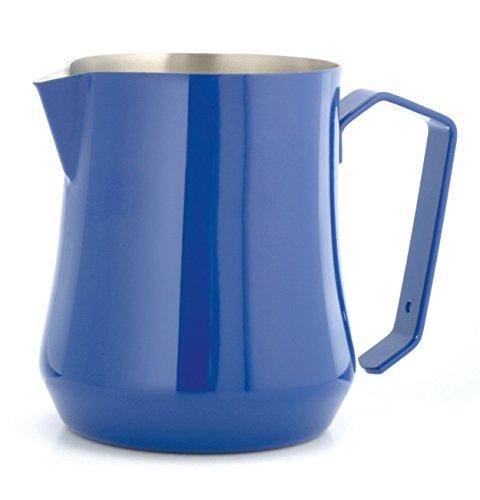 Motta MO-0415000 Stainless Steel Tulip Milk PitcherJug 17 fl oz50 Cl Blue
