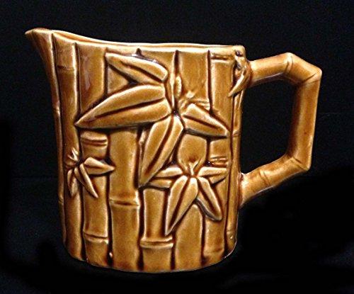 Vintage Ceramic Hawaiian Polynesian Tiki Creamer Syrup Small Pitcher