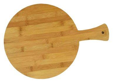Round Bamboo Pizza Board 14