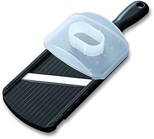 Kyocera Advanced Ceramic Double-edged Mandolin Slicer With Guard Black