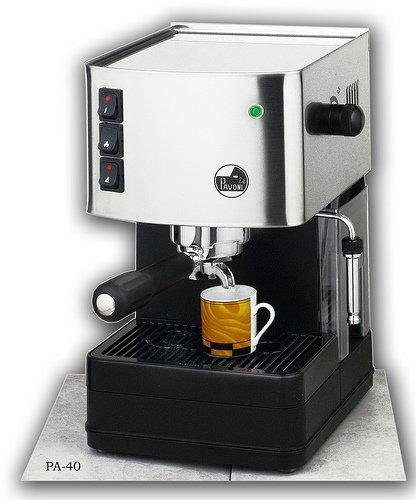 La Pavoni Buondi Model Home Espresso And Cappuccino Machine, Single Group, 1.8-liter Tank, Marine Brass Boiler