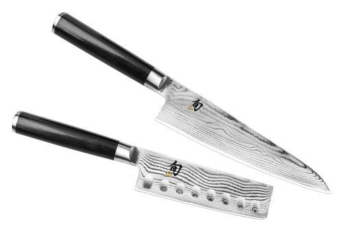 Shun Classic 2-piece Asian Chefs Knife Nakiri Set