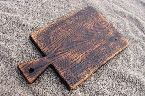 Old Rustic Cutting Board Wooden Serving Board Vintage Wood Board Chopping Board Bread Board Cheese Board Salvaged Wood Board