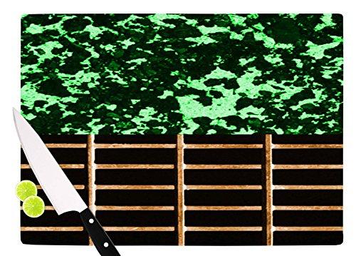 KESS InHouse Trebam Stabla Green Brown Cutting Board 115 x 1575 Multicolor