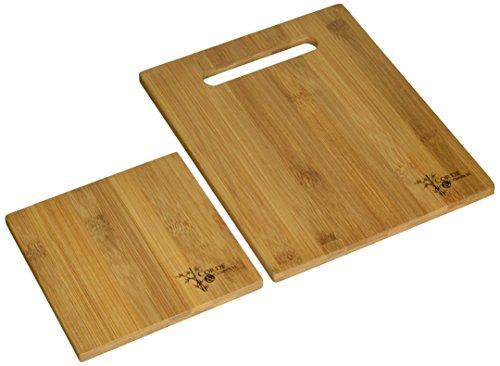 Corde Compass 3-Piece Bamboo Cutting Board Set