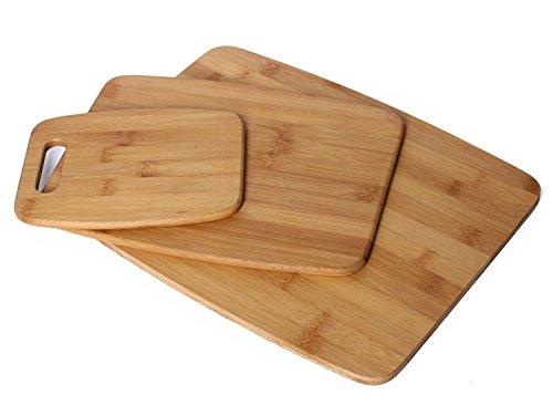 Homemaker 3-Piece Bamboo Cutting Board Set