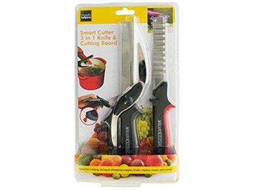 Smart Cutter 3 in 1 Knife Cutting Board Set - Pack of 6