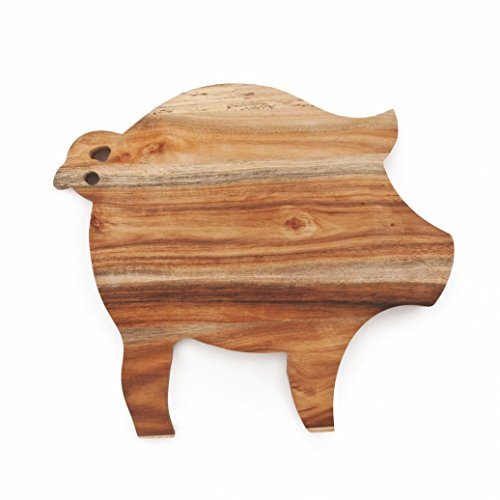 Cheese Cutting Boards Acacia Wood Unique Pig Rustic Serving Elegant Cheese Board