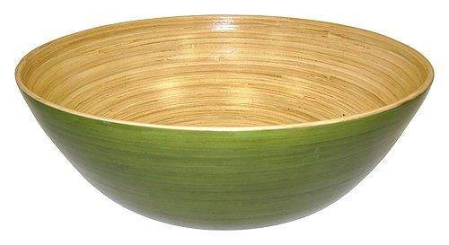 Simply Bamboo Glossy Celadon Green Bamboo Bowl