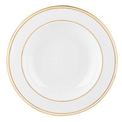 Lenox Federal Gold Bone China Pasta BowlRim Soup