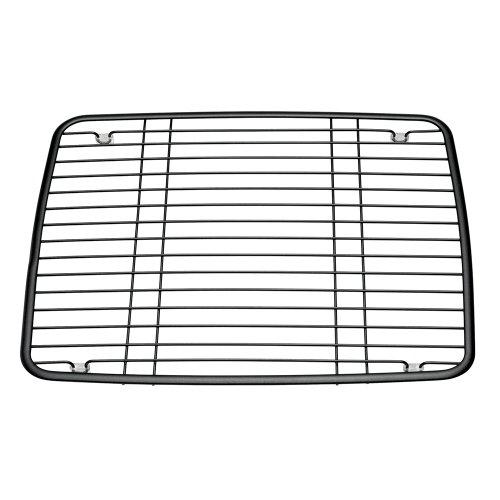 InterDesign Axis Kitchen Sink Protector Grid - Pearl Black Matte