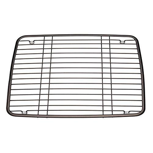 InterDesign Axis Kitchen Sink Protector Grid - Bronze