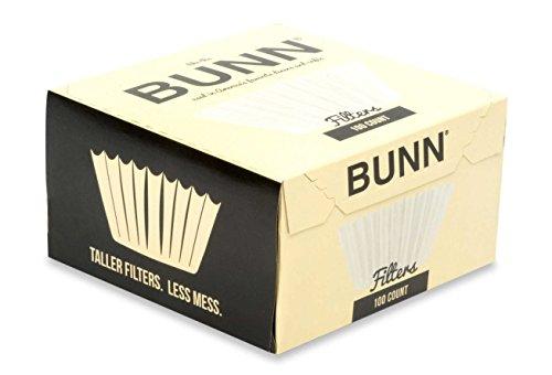 BUNN BCF100-B 100-Count Basket Filter  2 Pack