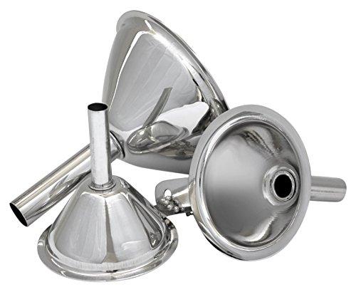 Estilo 3-Piece Stainless Steel Funnel Set