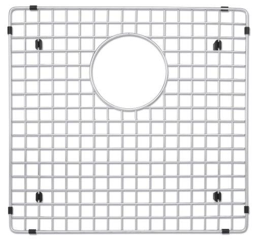 Blanco 223190 Stainless Steel Sink Grid Fits Precision and Precision 10 1-34 Bowl left bowl Stainless Steel