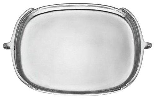 Dansk Kobenstyle Metal Rectangular Tray 20 - Silver