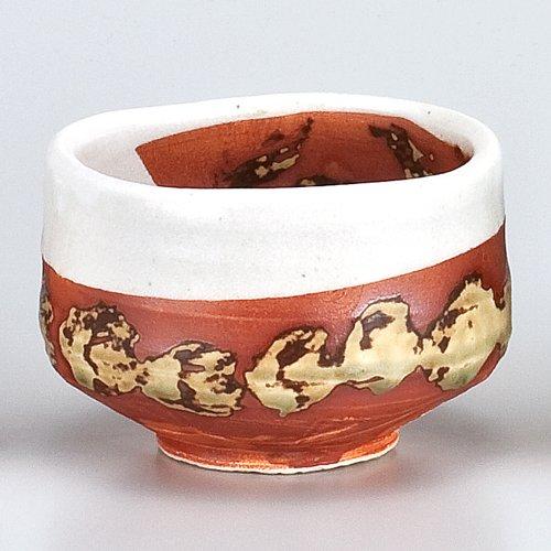White Karatsu point crest Matcha bowl set with  Thomson box and  tea utensils   Enjoy Goods  Kitchenware