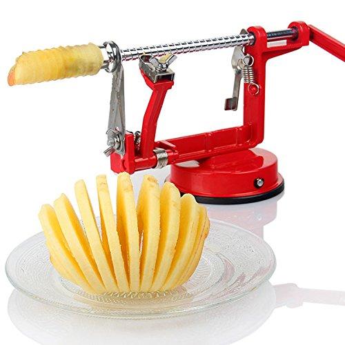 3in1 Apple Slinky Machine Peeler Corer Potato Fruit Cutter Slicer