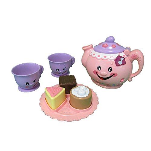 Little Big World Music Happy Teapot Set PinkPurple