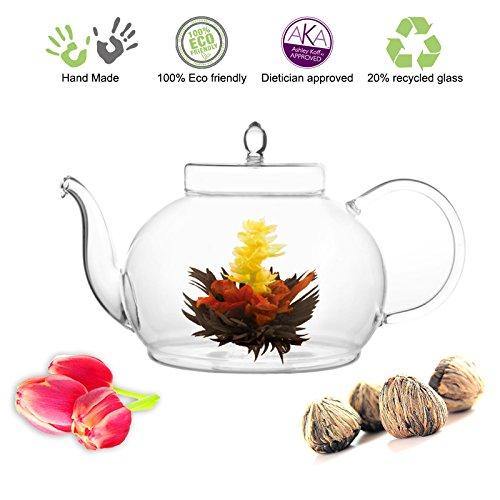 Tea Beyond Tea Set Teapot Polo 45 Oz1330 Ml and English Breakfast Flowering