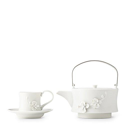 White Orchid Teapot Set by Teavana
